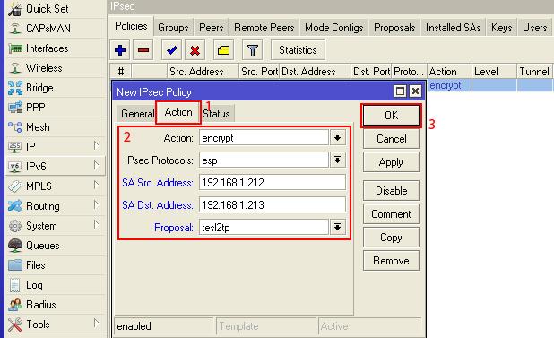 Cara Konfigurasi VPN L2TP/IPSec
