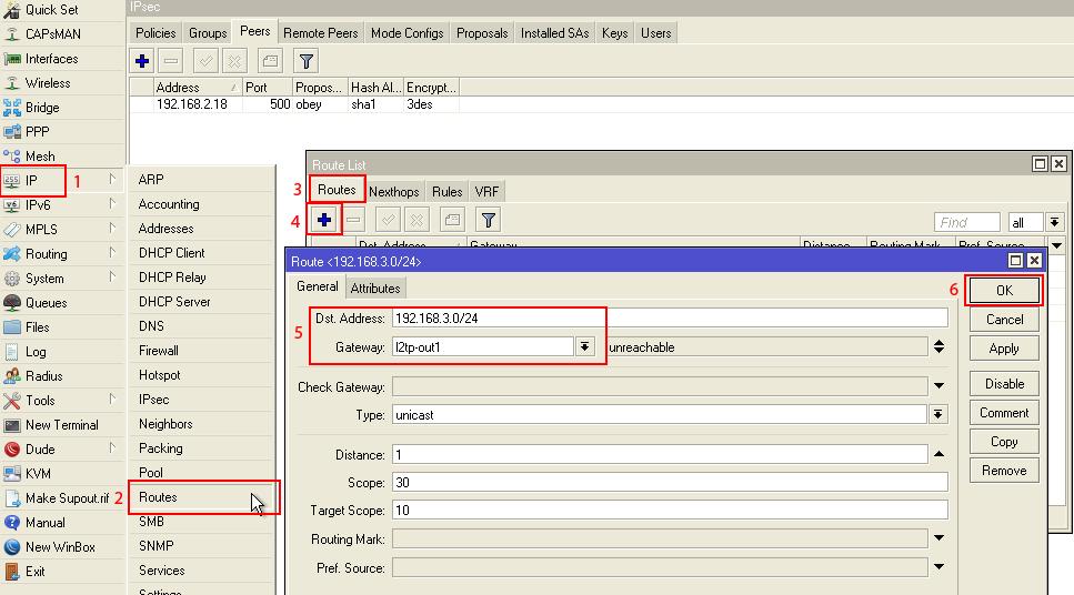 Cara Konfigurasi VPN L2TP/IPSec (Part 2)