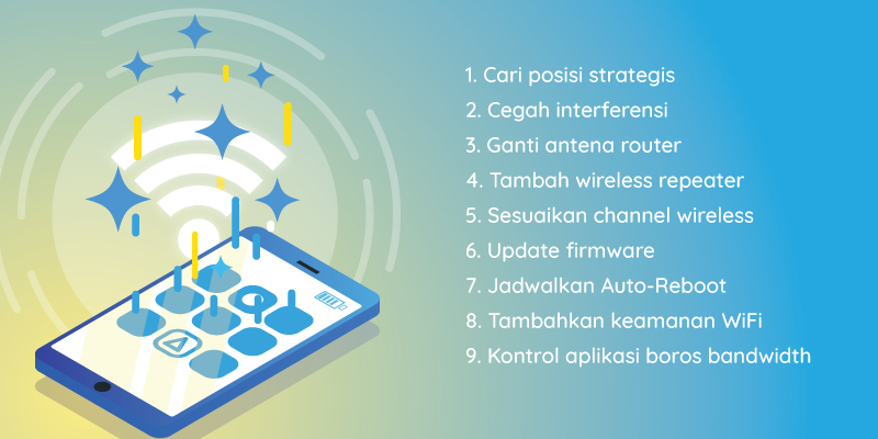 Maksimalkan Sinyal WiFi Dengan Cara Ini !